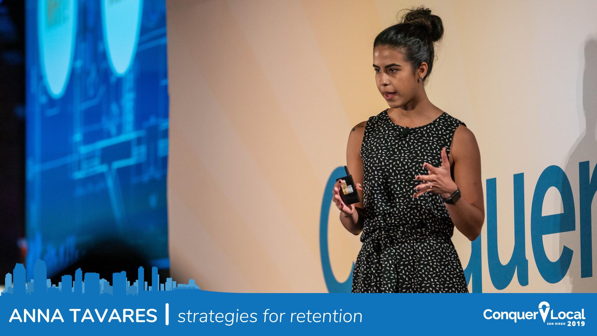 Anna Tavares | Strategies for Retention
